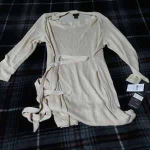 Cream color maternity sweater